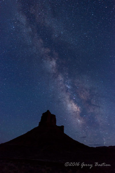 Milky Way outside of Moab