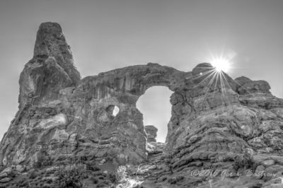 Turret Arch in Arches NP